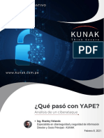 Boletin Informativo - YAPE, Análisis de Un Ciberataque (1)