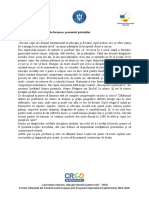 Activitate 1.2.2  Profilul de formare, prezentat părinților