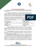 Activitate 1.3.2. - Proiectarea unei programe de opțional