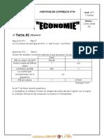 Devoir de Contrôle N°2 - Économie - Bac Economie & Gestion (2011-2012)  Mme Tlili Nahed