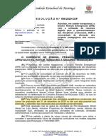 Resolução 006cep- 2020 Calendário UEM