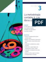 4.- la metodología contable 2. Los libros contables