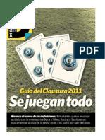 Guia Clausura 2011 Clarin por www.lagrandt