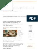 Tema - Justiça e sistema punitivo no Brasil - Redação Perfeita