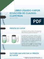 EQUILIBRIO LÍQUIDO-VAPOR