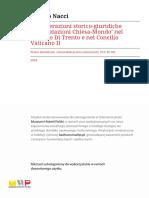 Considerazioni storico-giuridiche - Matteo Nacci