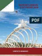 Correio de  UNESCO - Hampate Ba - Relatorio Anual de Atividades 2018