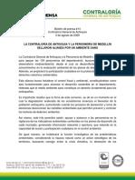 Boletín de Prensa 14 La Contraloría y La Personería Sellaron Alianza Por Un Ambiente Sano