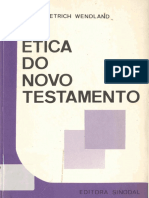 Ética Do Novo Testamento - Heinz Dietrich Wendland