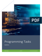 C# Programming Language - Set of Tasks(20) and Solutions