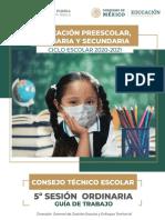 Guia Cte Febrero 2021 - Consejo Técnico Escolar