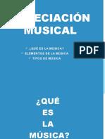 Apreciación Musical 1