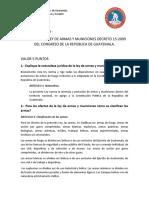 Análisis de La Ley de Armas y Municiones (1)