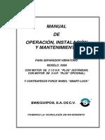 XS60 Manual Colador Sweco