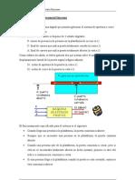Circuito secuencial sincrono Puerta automatica