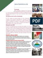 10 acontecimientos históricos de Guatemala
