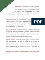 Guia de Derecho Constitucional Unidad 1 a la 6