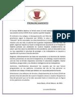 Denuncias de Cuerpos Médicos de EsSalud sobre irregularidades en vacunación