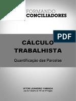 Formando Conciliadores 2 (Cálculo Trabalhista) - Apostila(1)