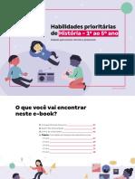 HABILIDADES PRIORITÁRIAS HISTÓRIA - ANOS INICIAIS