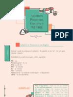 Adjetivos Posesivos, Genitive y WHOSE