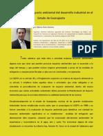 36. La evaluacion de impacto ambiental del desarrollo industrial en el estado de Guanajuato (1)