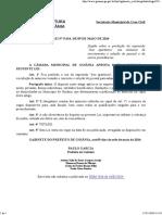 Lei Municipal - Vedação que Conste a Expressão Boa Aparência para seleção de Empregados