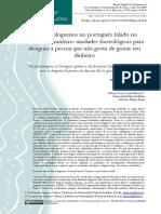 Os fraseologismos no português falado no Nordeste Brasileiro