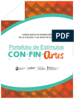 Portafolio de Estimulos Confinartes_final