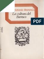 2. La cultura del Barroco_ José A. Maravall