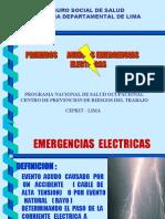 VI.- EMERGENCIAS ELECTRICAS