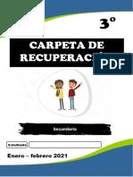 CARPETA DE RECUPERACIÓN 3 - SEC