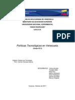 Las Políticas Tecnológicas Definitivo