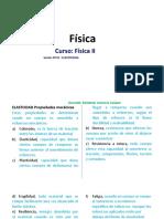 FISICA II-SESION 01-ELASTICIDAD