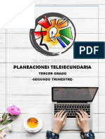 PLANEACIONES TERCERO 2B M
