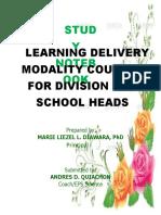 Study Notebook Ldm1