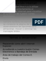 Manejando Internet Explorer