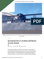 Incremento del 15% al salario solo llegará al sector formal – La Jornada Hidalgo
