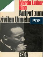 Martin Luther King - Aufruf zum zivilen Ungehorsam