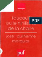 Foucault Ou Le Nihilisme de La Chaire ( PDFDrive )