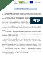 Ficha de Trabalho - análise de conto Manuel da Fonseca