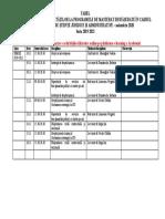 Planificare MRU Noiembrie 2020 M2