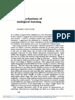 Gentner, Dedre - 'The Mechanisms of Analogical Learning'
