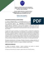 Programa de ECN-211-115 de la UASD