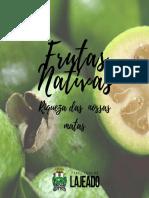 Cartilha frutas nativas - Dia da Biodiversidade