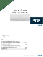 Manual Técnico - Linha ECO INVERTER HVF-Q