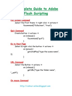 A Complete Guide to Adobe Flash Scripting