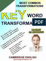 300 Most Common Transformations- KWT (B2-C1)