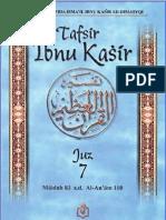 Tafsir Ibnu Katsir Juz 7