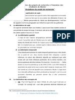Guide de rédaction du projet de recherche à l